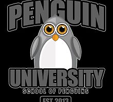 Penguin University - Grey 2 by Adamzworld