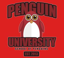 Penguin University - Red Kids Clothes