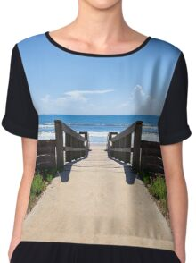 East Coast Beach Chiffon Top