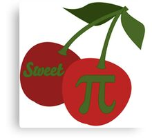 Sweet Cherry Pi Canvas Print