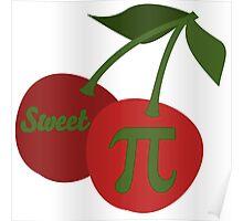 Sweet Cherry Pi Poster