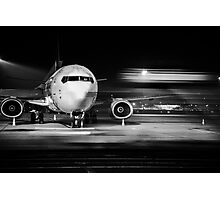airplane front close-up Photographic Print