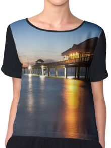 Clearwater Pier Chiffon Top