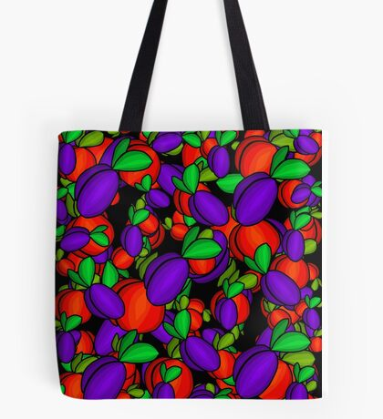 Plums and peaches  Tote Bag