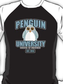 Penguin University - Blue T-Shirt