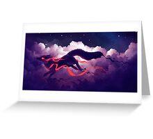 The cloud jumper Greeting Card