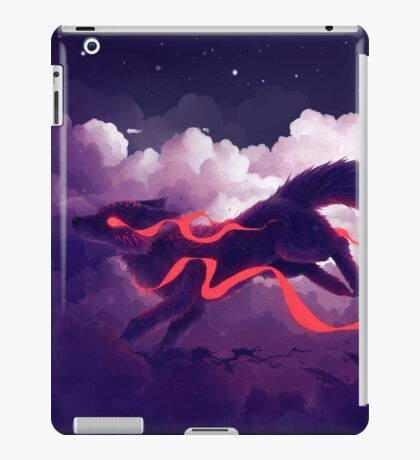 The cloud jumper iPad Case/Skin