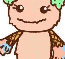 Ice Cream Monster Sticker