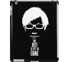 The best is yet to come from Kojima - Black Edition  iPad Case/Skin