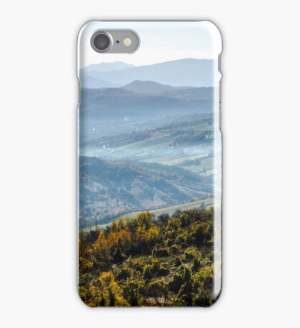 Hills of Italy - Guardiagrele iPhone Case/Skin