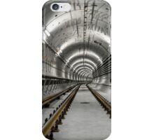 Deep metro tunnel under construction iPhone Case/Skin