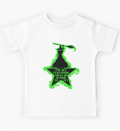 Hamilton Musical Crossover. Wicked Musical Parody. Kids Tee