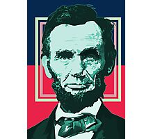 Abraham Lincoln - Retro Photographic Print