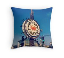 Fisherman's Wharf - San Francisco Throw Pillow