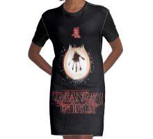 stranger things - tv series netflix Graphic T-Shirt Dress