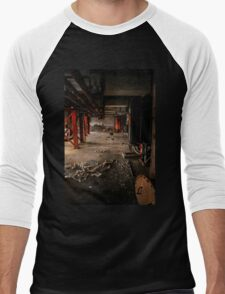 Industrial interior with chair Men's Baseball ¾ T-Shirt