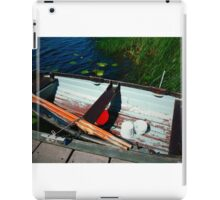 Waiting for the Fisherman iPad Case/Skin