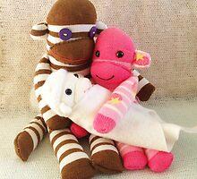 New Baby Sock Monkey by FendekNaughton