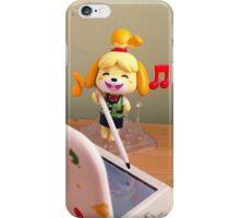 Isabelle loves playing Animal Crossing! iPhone Case/Skin