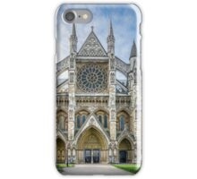Westminster Abbey Entrance iPhone Case/Skin
