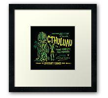Cthuluau Framed Print