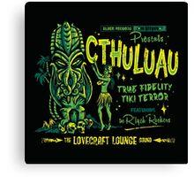 Cthuluau Canvas Print