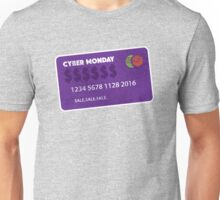 Cyber Monday Credit Card Funny T Shirt Unisex T-Shirt