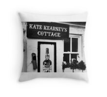 Kate Kearney's Cottage Kerry Ireland Throw Pillow