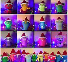 Christmas Uglydolls! by FendekNaughton