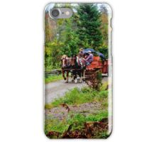 Transportation in the Modern Age iPhone Case/Skin