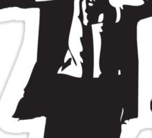 Pulp Fiction-Darth & Boba Hit Men Sticker