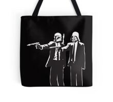 Pulp Fiction-Darth & Boba Hit Men Tote Bag