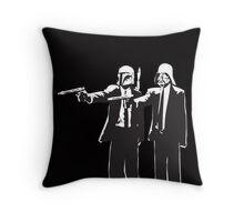 Pulp Fiction-Darth & Boba Hit Men Throw Pillow