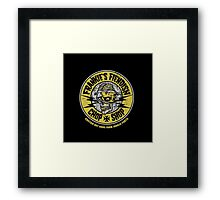Frankie's Fiendish Chop Shop Framed Print