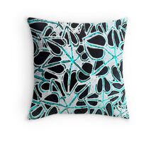 Hearts tranquil and inverted. Throw Pillow