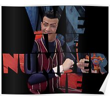 Robbie Rotten - We Are Number One Poster