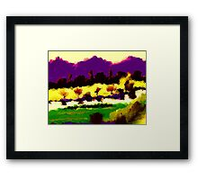 art of Alexandr-Az Framed Print