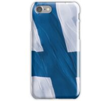 Waving Flag of Finland From 2014 Winter Olympics iPhone Case/Skin