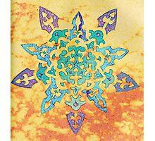 Snowflake Mandala Photographic Print