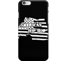 American Hip Hop (White) iPhone Case/Skin