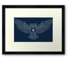 Hedwig Invitation Stylized Framed Print