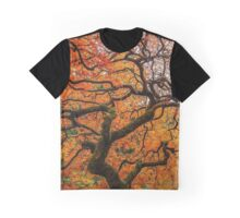 Japanese Maple Tree Graphic T-Shirt
