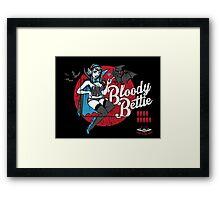 Bloody Bettie Framed Print