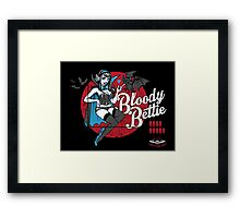 Bloody Bettie Framed Print
