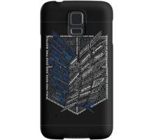 Wings of Freedom Samsung Galaxy Case/Skin