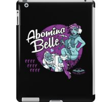Abomina Belle  iPad Case/Skin