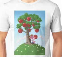 Boy with Apple Tree Unisex T-Shirt