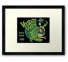Voodoo Vixen Framed Print