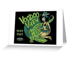 Voodoo Vixen Greeting Card