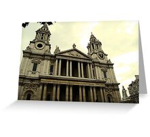 St. Paul's Cathedral_2 Greeting Card